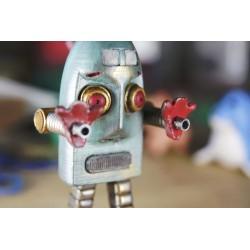 Robert the angry vintage robot